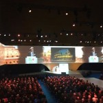 Rome 2024's launch ceremony at the Palazzo Dei Congressi on February 17, 2016 (Rome 2024 Photo)