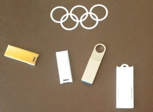 2024 Olympic bid books Were delivered to the IOC on USB drives for the first time (IOC Photo)
