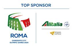 Alitalia Top Sponsor
