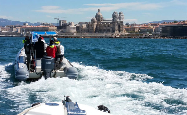 World Sailing visits Paris 2024 officials in Marseille, France - proposed Olympic sailing site (Paris 2024 Photo)