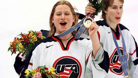 Angela Ruggiero is a four time Olympic Medalist in Ice Hockey (Photo: AngelaRuggiero.com)