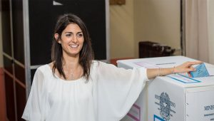 Virginia Raggi elected Mayor of Rome (@VirginiaRaggi Twitter Photo)