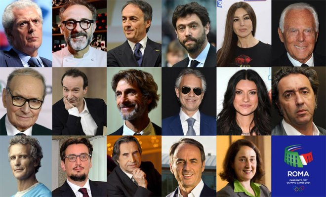 Rome 2024 Ambassadors