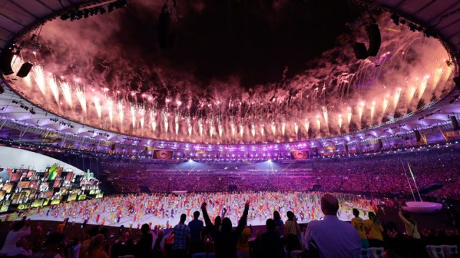 Rio 2016 Olympic Games Opening Ceremony August 5, 2016