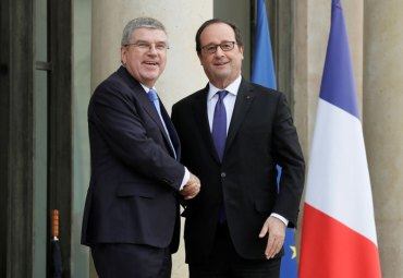 "IOC President Bach Says Paris 2024 is ""Strong Candidate"" for Olympic Games"
