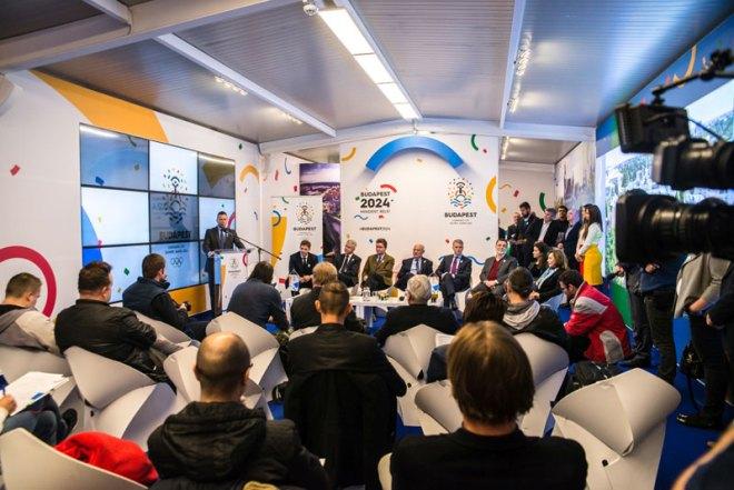 Budapest 2024 Olympic Bid event reveals nine new ambassadors (Budapest 2024 Photo)