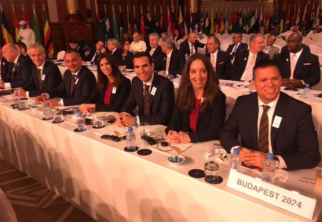 Budapest 2024 delegation set to present in Doha at ANOC General Assembly