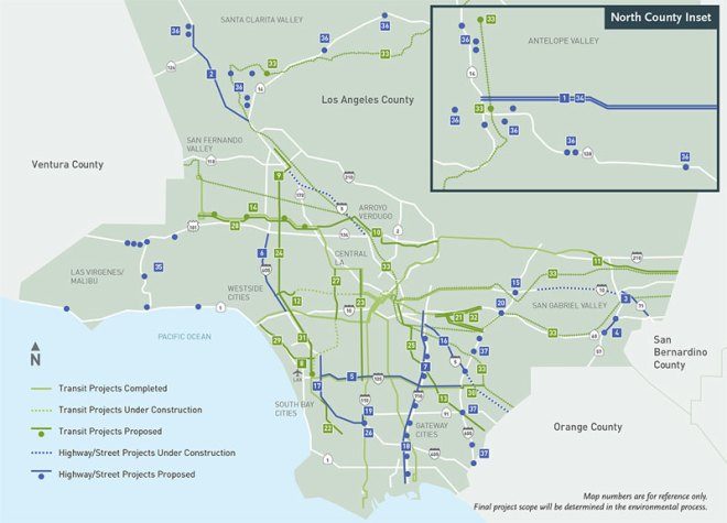 Los Angeles Transportation Plan