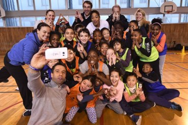 Paris 2024 Olympic Bid and UNICEF Collaborate On Youth Education Program