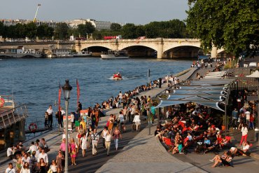Paris 2024 Welcomes New Potential Swimming Sites On River Seine, A Boost To Open Water Events