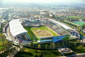 Proposed LA 2024 Olympic Bid Modern Pentathlon Venue (LA 2024 Depiction)