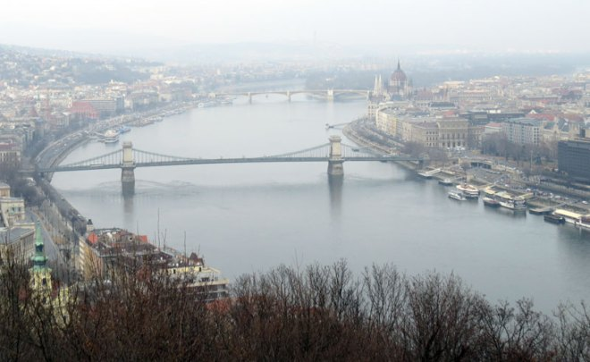 A gloomy day in Budapest as the Olympic bid begins to dismantle (GamesBids Photo)
