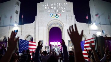 LA 2024 Confident of Continued Strong Public Support For Olympic Bid