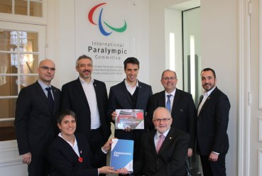 Paris 2024 Officials Share Project With International Paralympic Committee