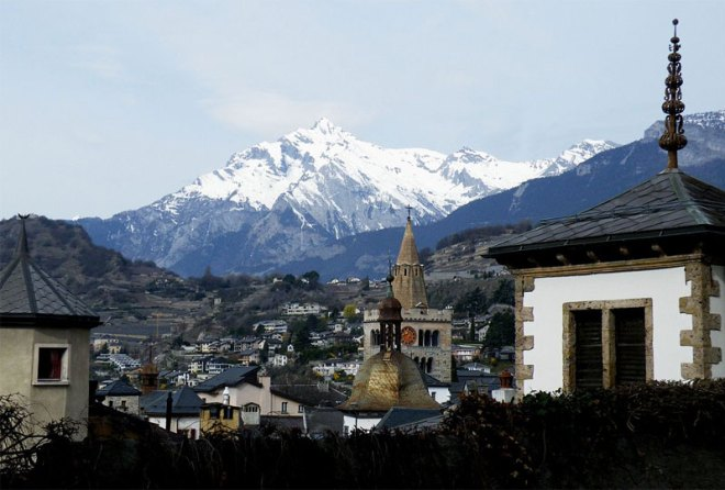 Sion, Switzerland could bid to host the 2026 Olympic Winter Games (Wikipedia photo)
