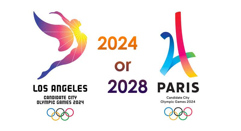Paris, France to host 2024 Summer Olympic Games, Los Angeles, USA to host in 2028 2024-2028