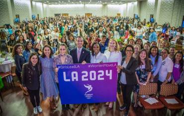 LA 2024 Vice-Chair Talks Equality In Sport At Women's Assembly