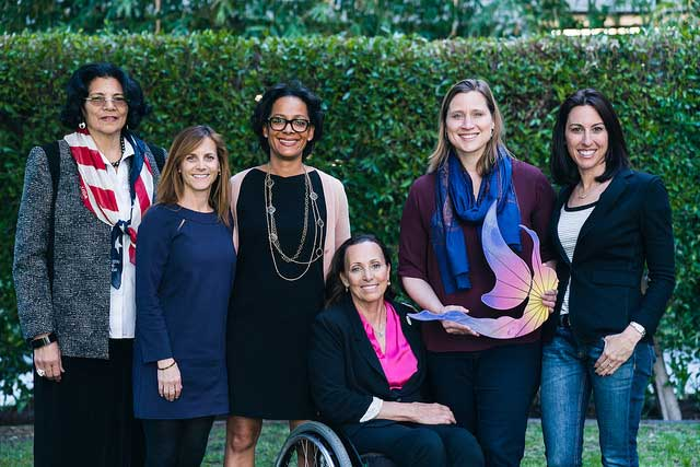 Members of LA 2024 leadership team mark International Women's Day by emphasizing key bid commitments (LA 2024 Photo)