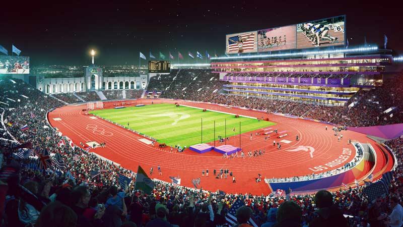 LA 2024 Applauds Key Approval For Coliseum Modernization Project