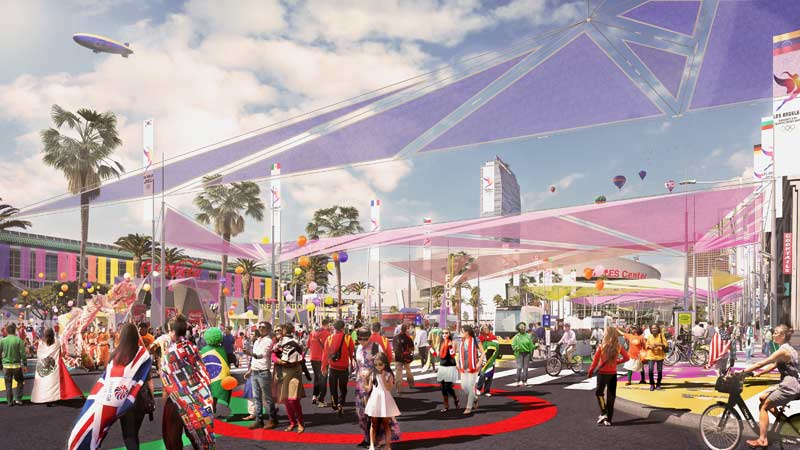 LA 2024 Reveals New Venue Renderings and Virtual Tour