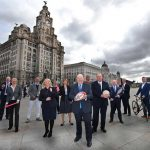 Brian Barwick (centre) appointed Chair of Liverpool's Commonwealth Games Bid (Liverpool 2026 Photo)
