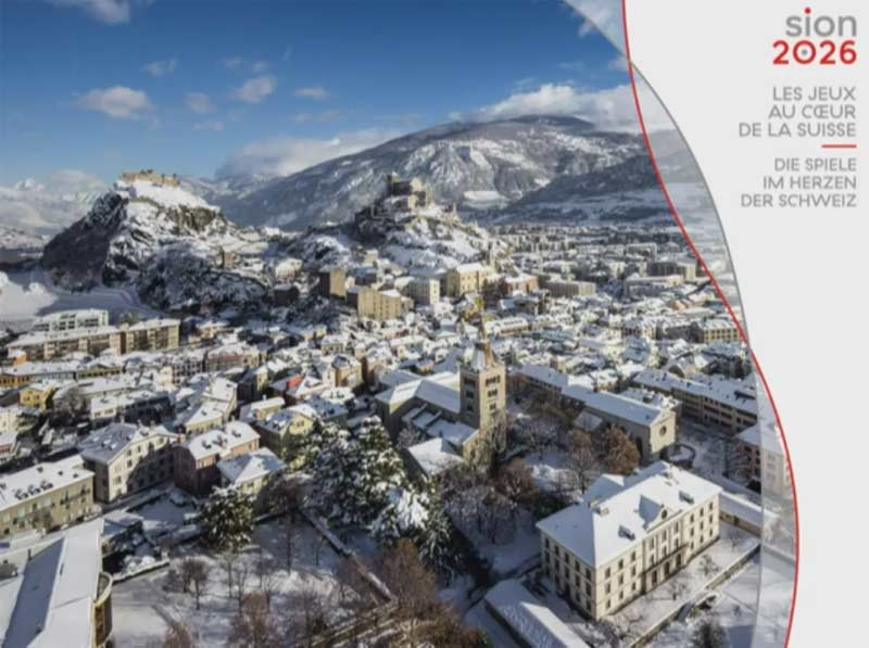 Sion 2026 Olympic Bid Receives Crucial Federal Backing