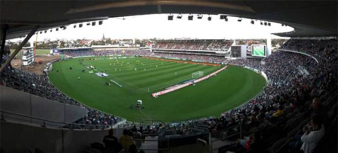 Simonds Stadium could host Rugby 7s in Geelong at Victoria 2030 Commonwealth Games (Wikipedia photo)