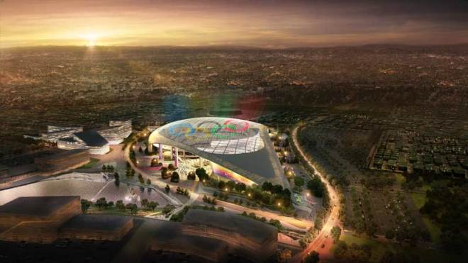 LA Stadium at Hollywood Park