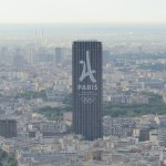 Paris 2024 branding adorns Paris Hotel during IOC Evaluation Commission Visit (GamesBids Photo)