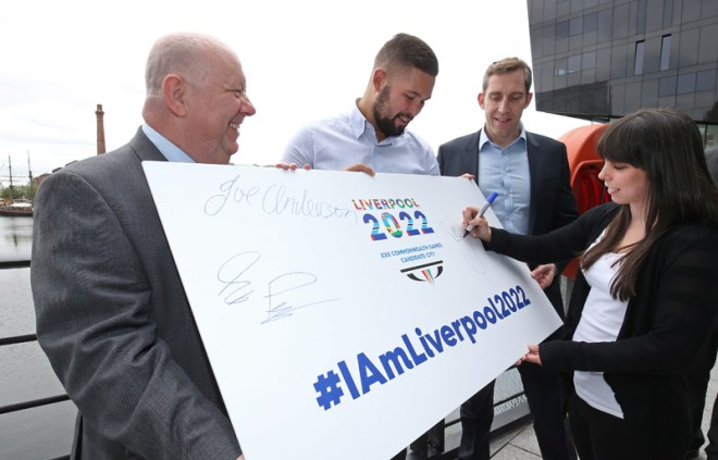Liverpool launches 2022 Commonwealth Games bid (July 16, 2017 - Liverpool 2022 Photo)