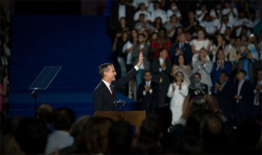 LA Mayor Garcetti Underlines City's Olympic Dream In Inauguration Address