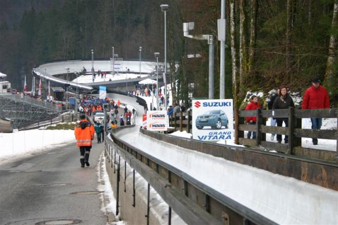 Sliding track at Schönau am Königsee could be part of Graz 2026 Olympic bid (Wikipedia Photo)