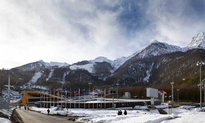 Sanki Sliding Center in Sochi, Russia hosted the Bobsleigh, Skeleton and Luge events at the 2014 Olympics. It has also been named as a possible 2026 venue if Erzurum, Turkey hosts the Winter Olympics (IBSF Photo)