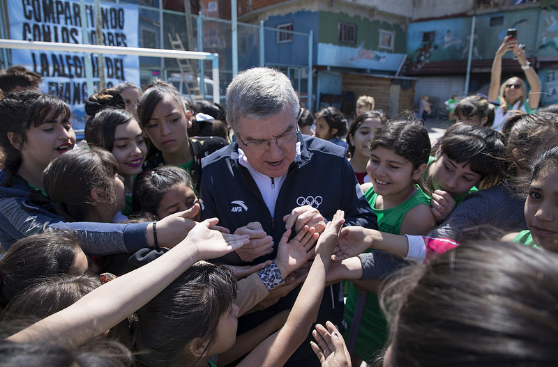 "IOC Chief Says ""Yes"" To Potential Buenos Aires 2032 Olympic Bid"
