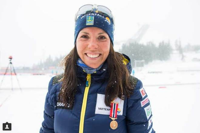 Three-time Olympic Champion cross-country skier Charlotte Kalla has been named Stockholm 2026 ambassador (Photo Instagram/Kalla)