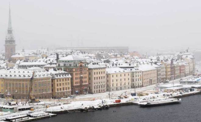 Stockholm, Sweden is bidding to host the 2026 Olympic and Paralympic Winter Games (SOK Photo)