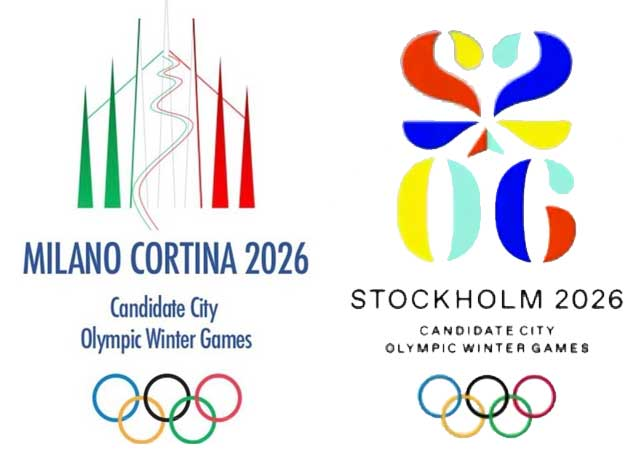 Stockholm And Milano-Cortina 2026 Olympic Bids Present Final Two Options To ANOC
