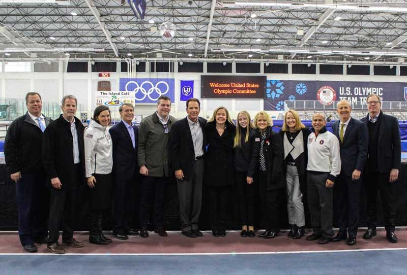 USOC Tours Facilities In Denver, Salt Lake City Ahead Of Selection Of Winter Olympic Bid City In December