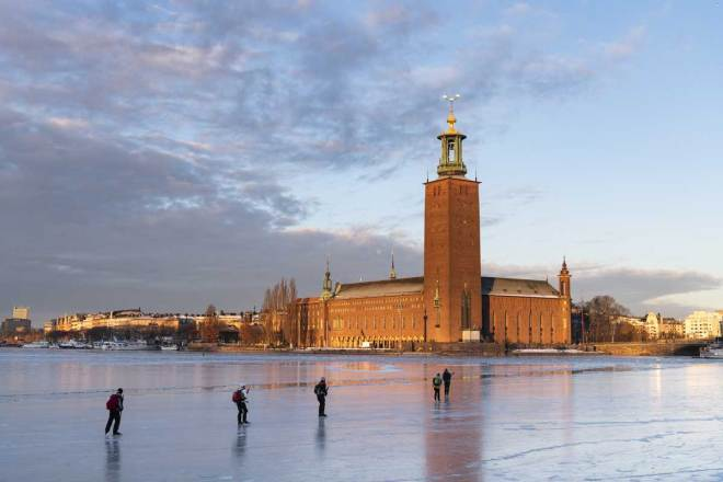 Skating in Stockholm (SOK Photo)