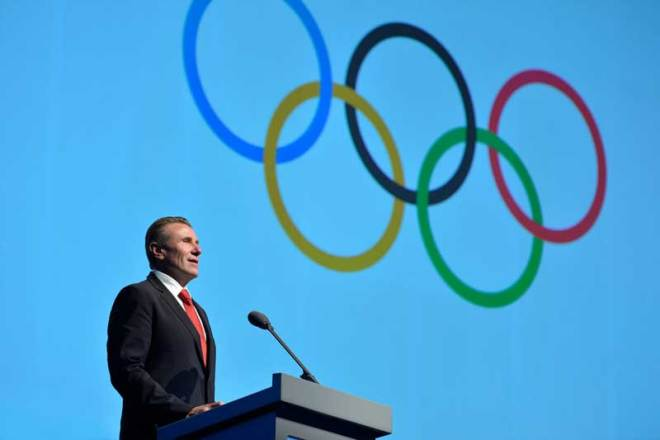 IOC Member Sergey Bubka addresses Session in Buenos Aires in 2013 during his Presidential run (Photo: sergeybubka.com)