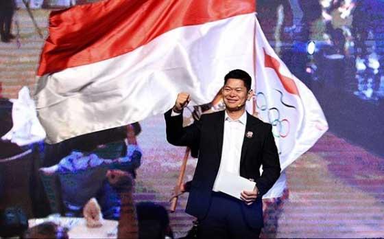 Indonesia Olympic Committee Chair Raja Sapta Oktohari (Oktohari/Instagram)