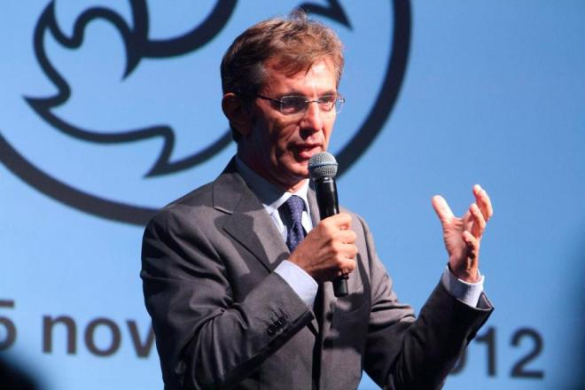 Vincenzo Novari has been named CEO of Milano-Cortina 2026 Olympic organizing committee, November 6, 2019 (Milano-Cortina 2026 Photo)