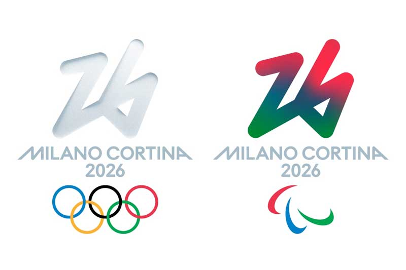 Milan Cortina 2026 Winter Olympics and Paralympics winning logos revealed