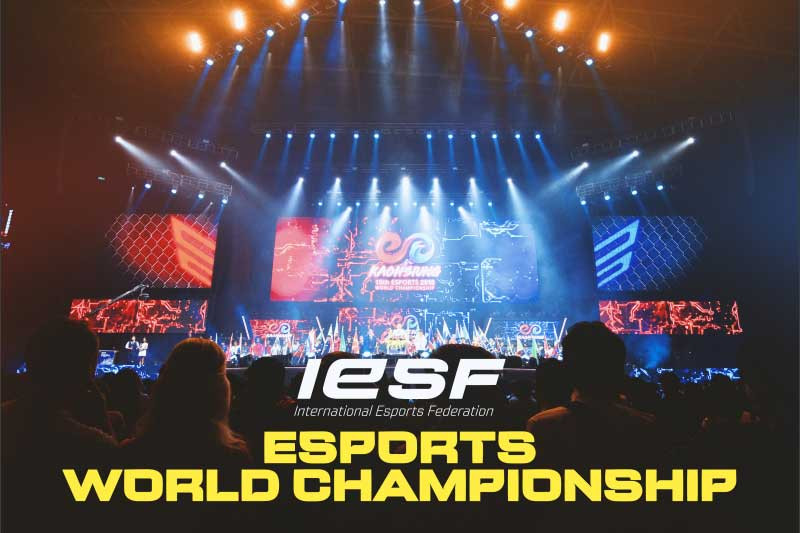 IESF opens bidding process as it seeks 2022 host for Esports World Championships