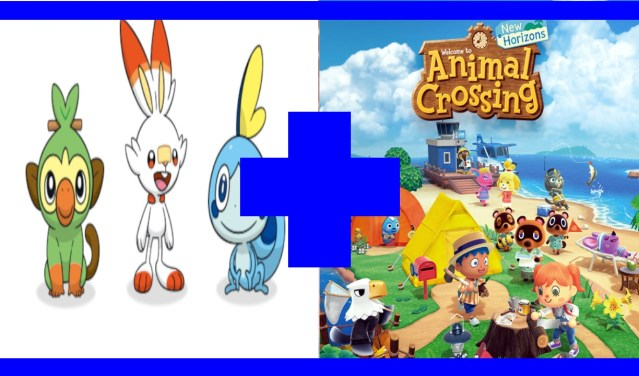 Animal Crossing NH y Pokemon