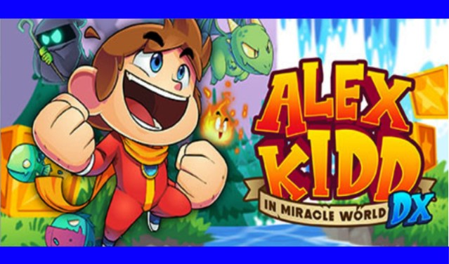 Alex Kidd In the Miracle World DX