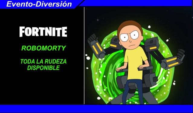 Fortnite Robomorty