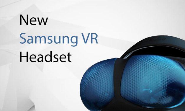 Samsung VR New Weird Headset Design