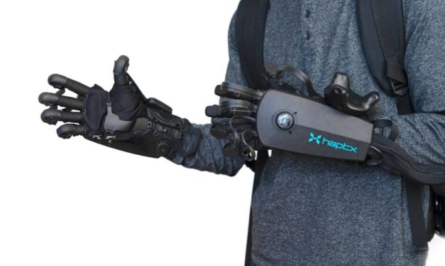 HaptX Launches Ultra Sensitive VR Haptic Gloves
