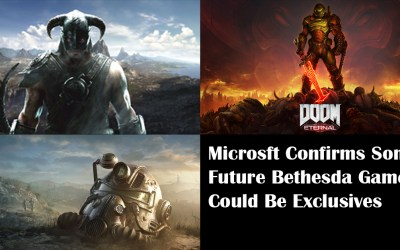 Microsoft Confirms Some Future Bethesda Games Could Be Exclusives